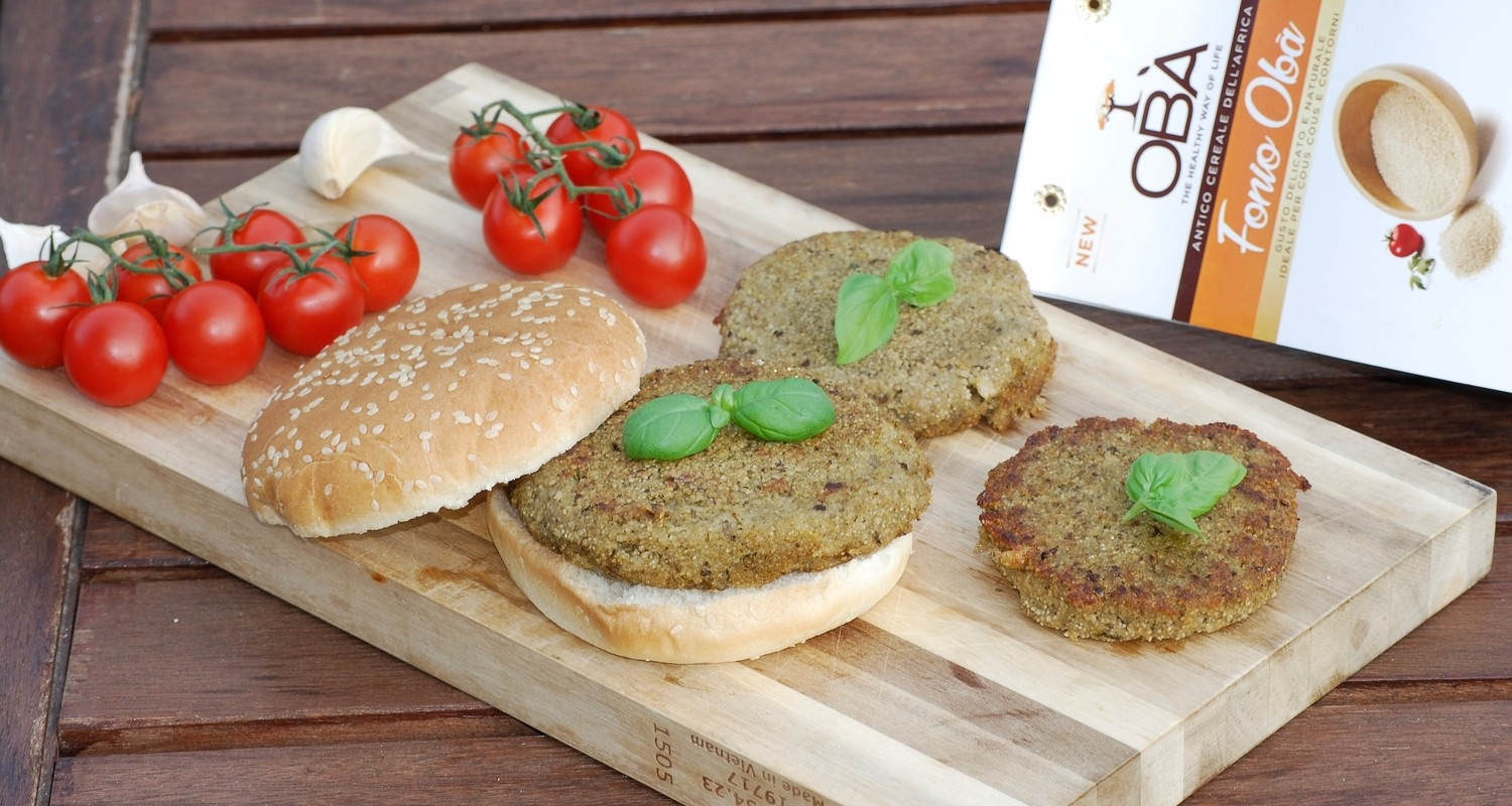 Fonio Vegan Burger